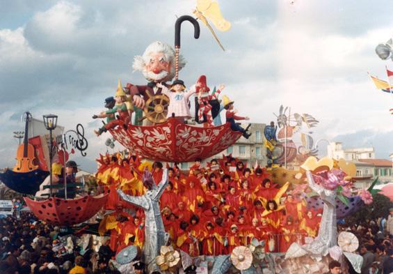 Qualcosa da salvare di Giovanni Maggini - Carri piccoli - Carnevale di Viareggio 1983