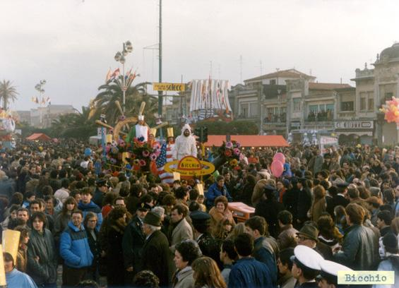 Sarebbe bello se... di Rione Bicchio - Palio dei Rioni - Carnevale di Viareggio 1983
