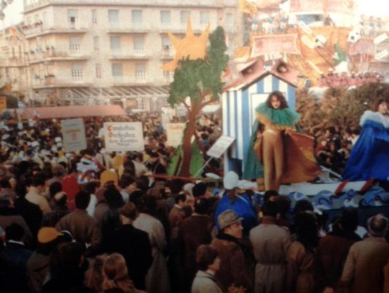 Verdi... verdi... sempre verdi di Rione Vecchia Viareggio - Palio dei Rioni - Carnevale di Viareggio 1983