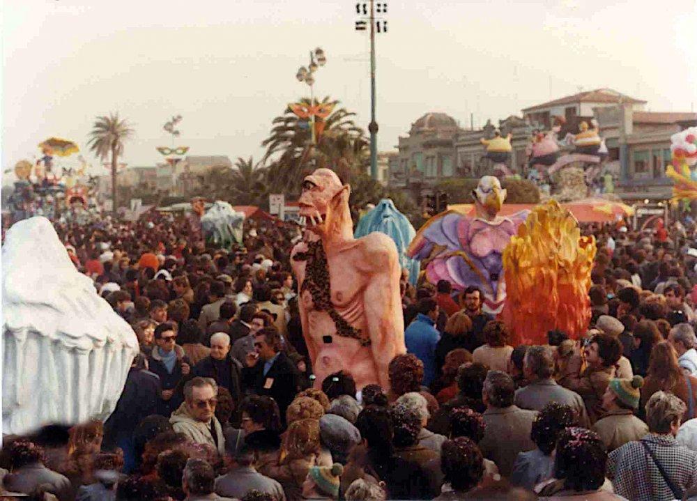 I giganti di Rossella Disposito - Mascherate di Gruppo - Carnevale di Viareggio 1984