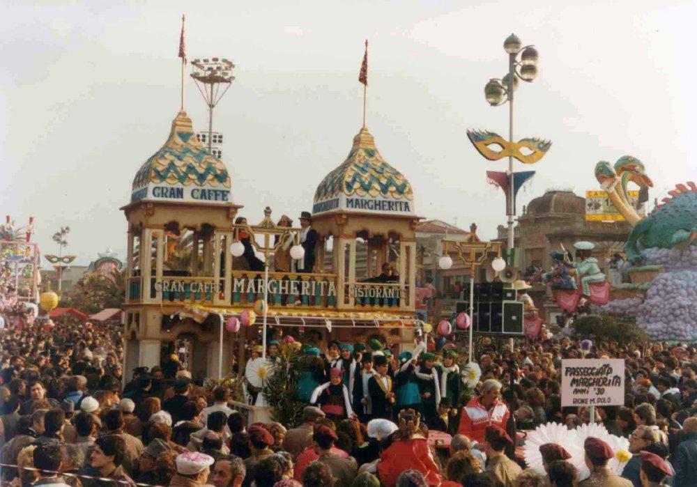Passeggiata Margherita di Rione Marco Polo - Palio dei Rioni - Carnevale di Viareggio 1984