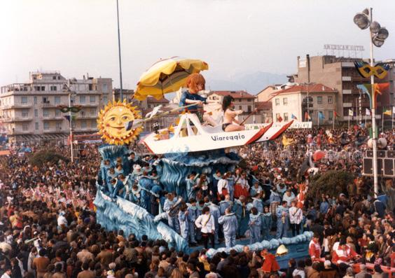 Sapore di mare, sapore di... di Giovanni Strambi e Guidobaldo Francesconi - Carri piccoli - Carnevale di Viareggio 1984