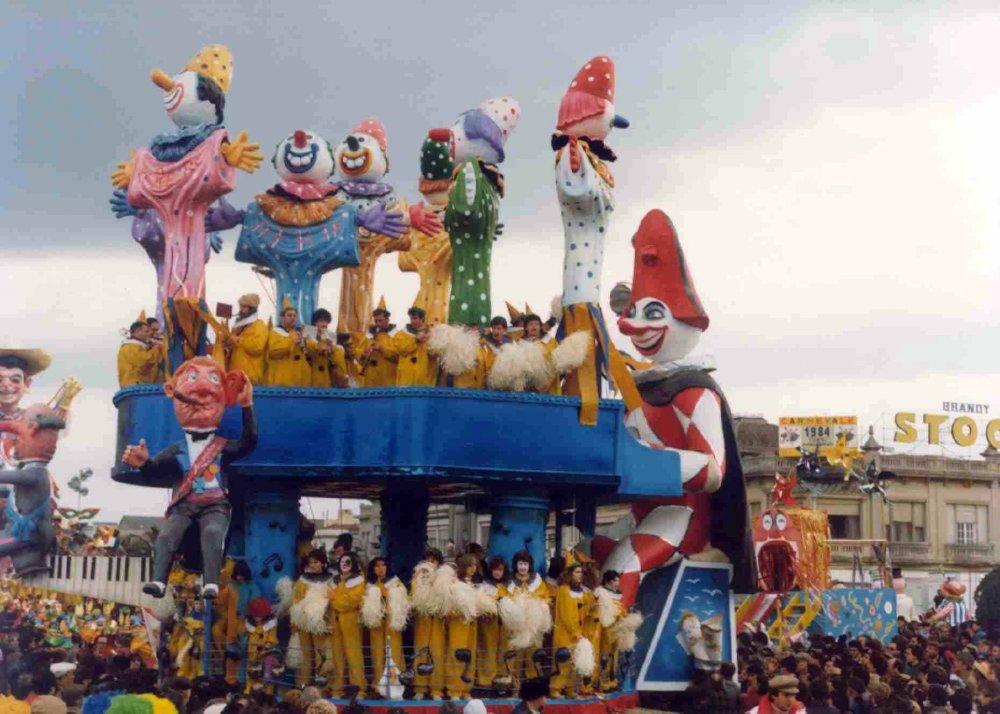 Sinfonia carnevalesca di Eros Canova e Roberto Alessandrini - Carri piccoli - Carnevale di Viareggio 1984