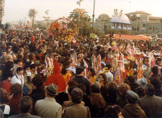 Sogno di primavera di Rione Tomeino Massarosa - Palio dei Rioni - Carnevale di Viareggio 1984