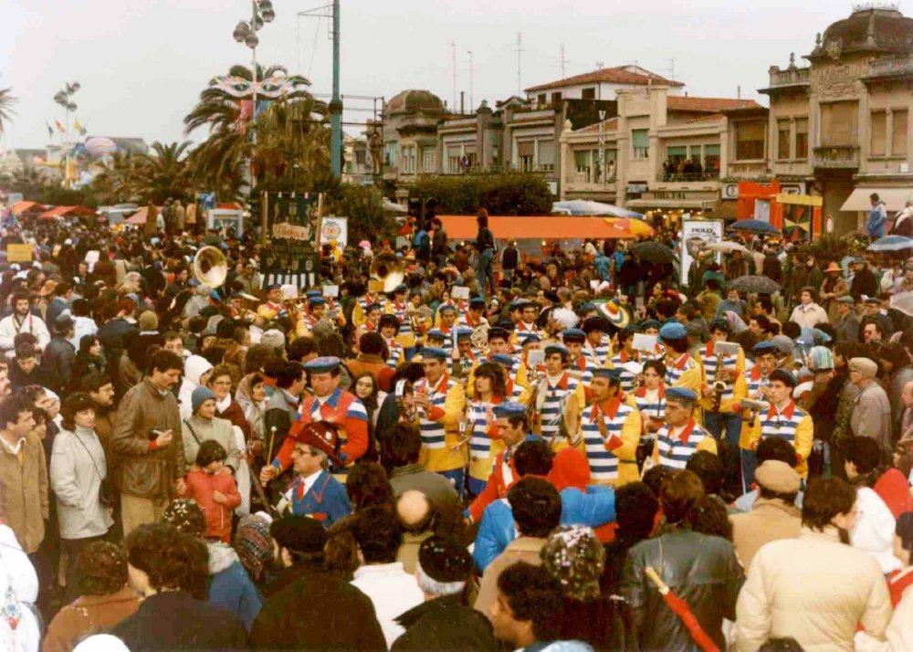 Bentornata Libecciata di Rione Varignano - Palio dei Rioni - Carnevale di Viareggio 1985
