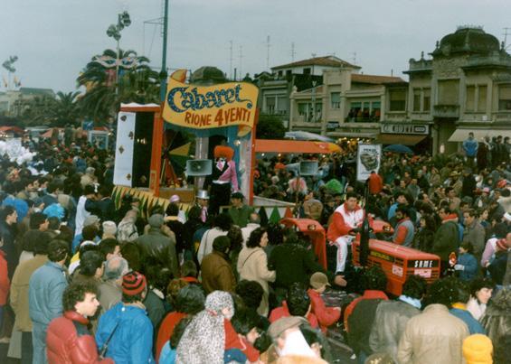Cabaret di carnevale di Rione Quattro Venti - Palio dei Rioni - Carnevale di Viareggio 1985
