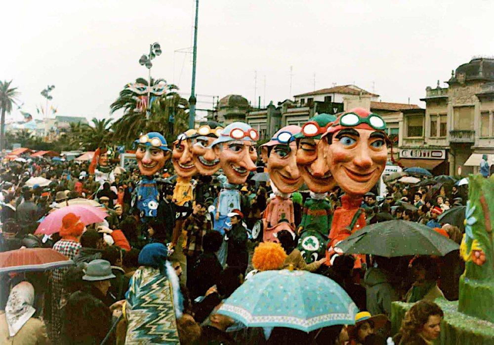 Corsa al premio di Roberto Musetti - Mascherate di Gruppo - Carnevale di Viareggio 1985
