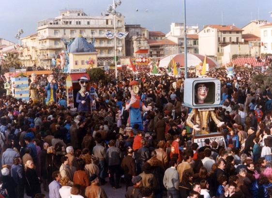 I guardoni di Carlo e Giorgio Bomberini - Mascherate di Gruppo - Carnevale di Viareggio 1985