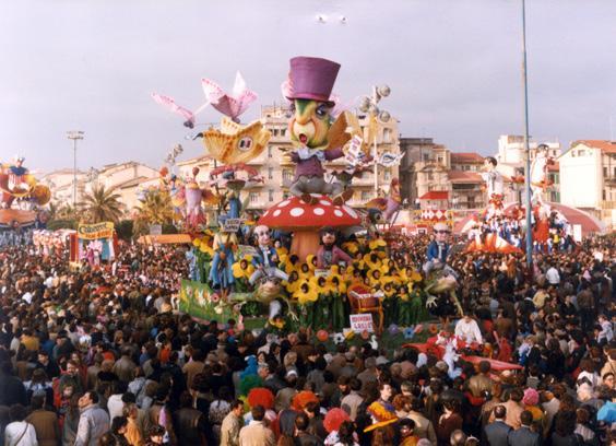 Indovinala grillo di Davino Barsella e Loris Lazzarini - Carri piccoli - Carnevale di Viareggio 1985