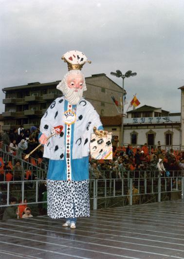 Regis di Massimo Breschi - Maschere Isolate - Carnevale di Viareggio 1985