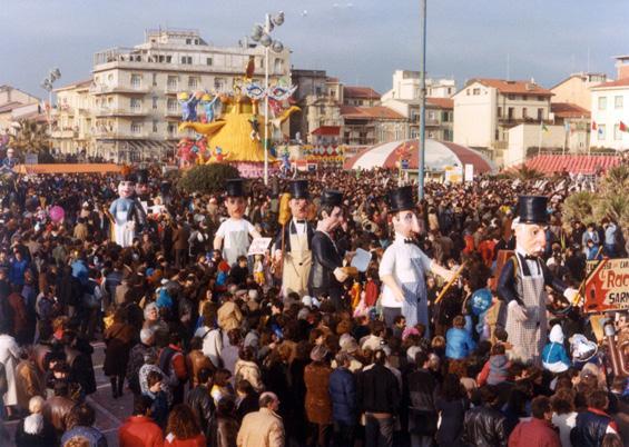 Uomini di governo di Davino Barsella e Loris Lazzarini - Mascherate di Gruppo - Carnevale di Viareggio 1985