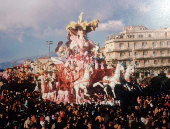 Addio vecchia Europa di Giulio Palmerini (cons. Nilo Lenci) - Carri grandi - Carnevale di Viareggio 1986
