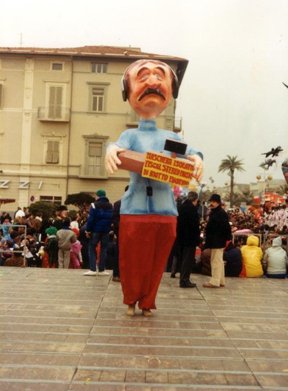 Fiscal stereo music di Eugenio Riotto - Maschere Isolate - Carnevale di Viareggio 1986