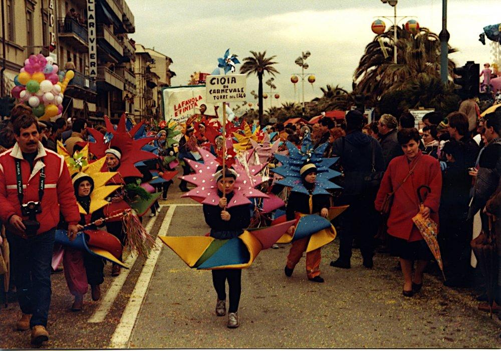 Gioia di carnevale di Rione Torre del Lago - Palio dei Rioni - Carnevale di Viareggio 1986