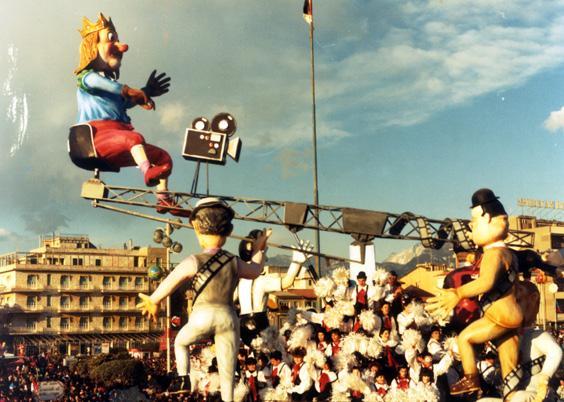 I classici della risata di Roberto Alessandrini - Carri piccoli - Carnevale di Viareggio 1986