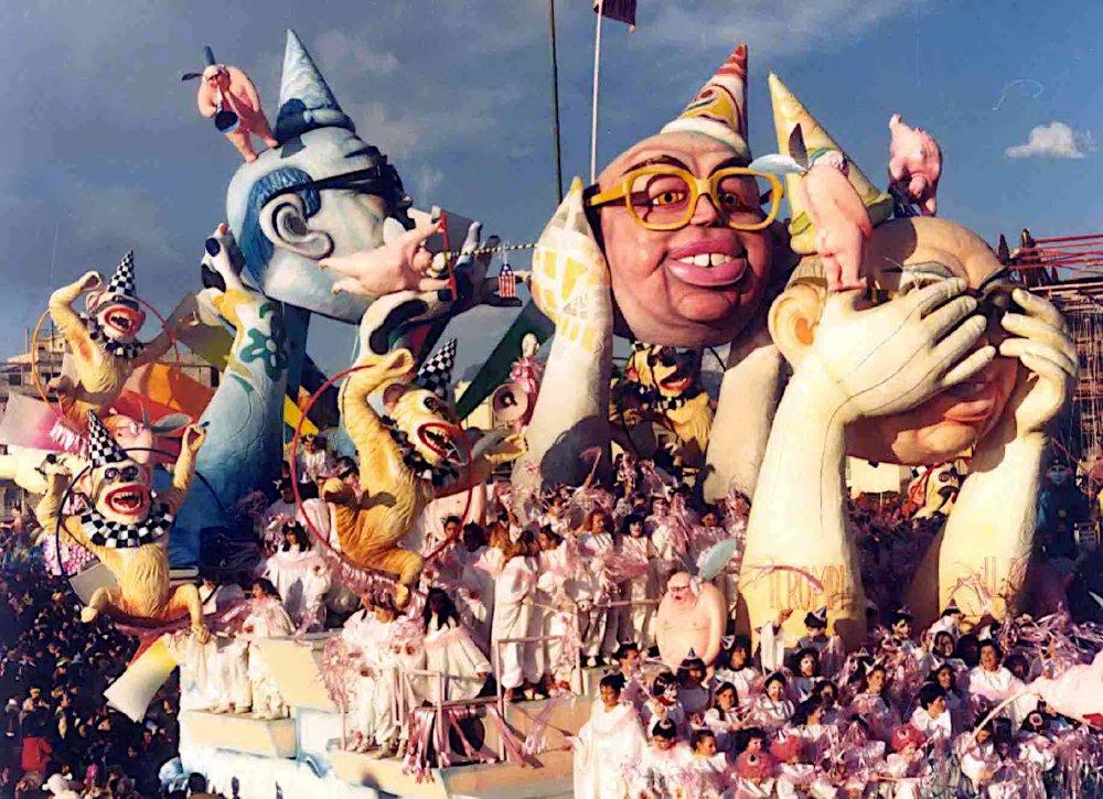 I rompi...balle di Arnaldo e Giorgio Galli - Carri grandi - Carnevale di Viareggio 1986