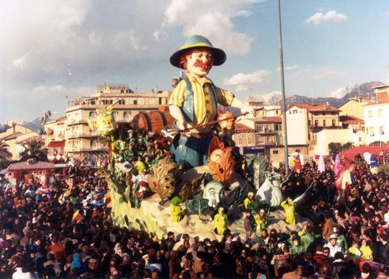 Il buon governo di Giovanni Strambi e Guidobaldo Francesconi - Carri piccoli - Carnevale di Viareggio 1986