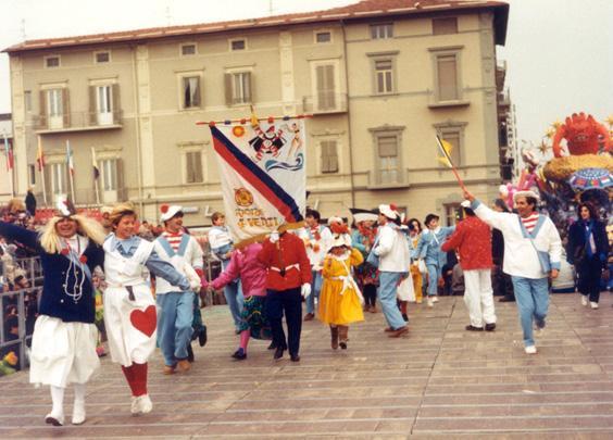 La nave dell'amore di Rione Quattro Venti - Palio dei Rioni - Carnevale di Viareggio 1986