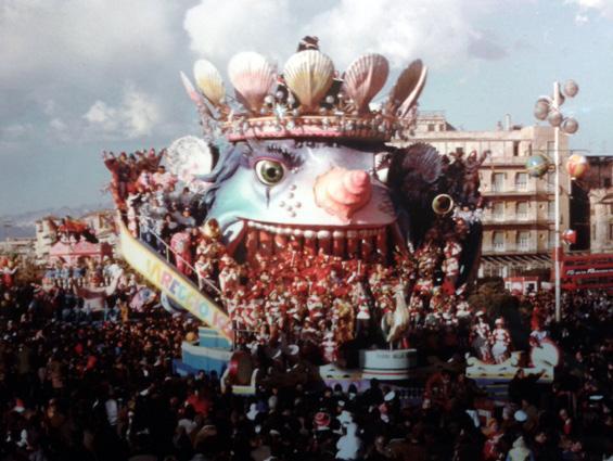 Musica dal mare di Sergio Baroni e Renato Verlanti - Carri grandi - Carnevale di Viareggio 1986
