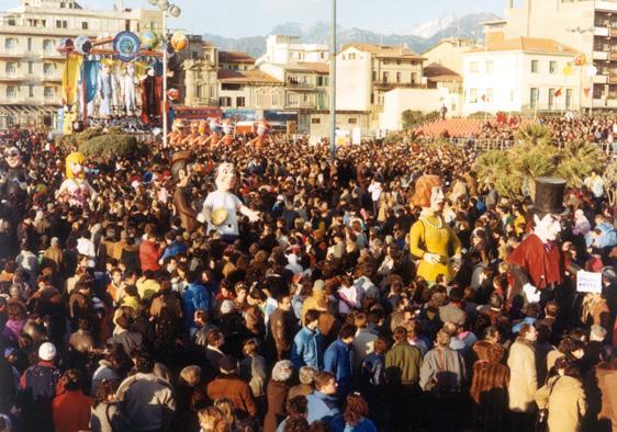 Quelli della notte di Loris Lazzarini - Mascherate di Gruppo - Carnevale di Viareggio 1986