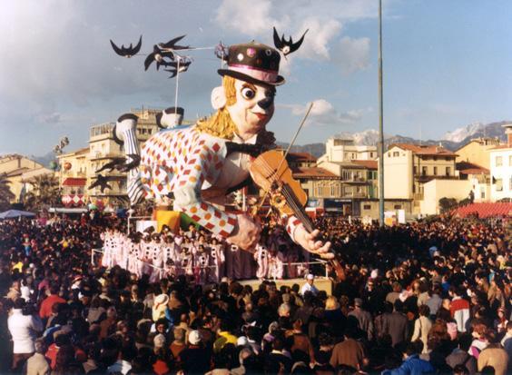 Voglia di volare di Davino Barsella ed Eros Canova - Carri piccoli - Carnevale di Viareggio 1986