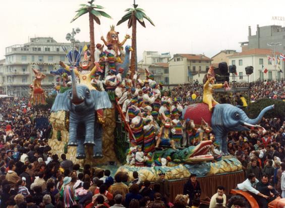 Carnevale nella giungla di Rione Vecchia Viareggio - Fuori Concorso - Carnevale di Viareggio 1987