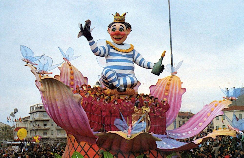 Carnevale nettare di pace di Roberto Alessandrini - Carri piccoli - Carnevale di Viareggio 1987