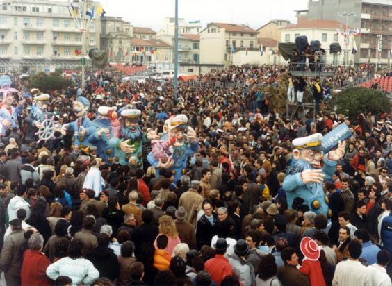 I lupi di mare di Franco Malfatti - Mascherate di Gruppo - Carnevale di Viareggio 1987