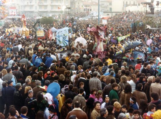 L'ultima cena di Michele Canova - Mascherate di Gruppo - Carnevale di Viareggio 1987