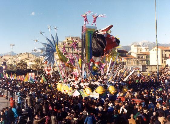 2001 genesi carnevalesca di Fabrizio Galli - Carri piccoli - Carnevale di Viareggio 1988