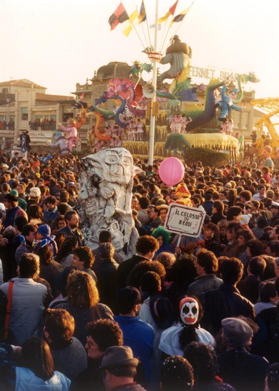 Il colosso di brodi di Glauco e Patrizia Dal Pino - Maschere Isolate - Carnevale di Viareggio 1988