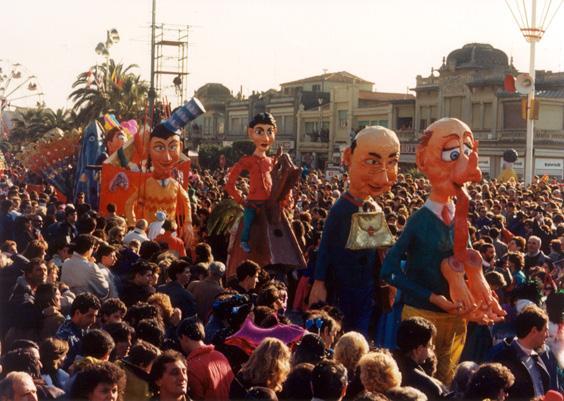 Il mistero della sfinge di Roberto Musetti - Mascherate di Gruppo - Carnevale di Viareggio 1988