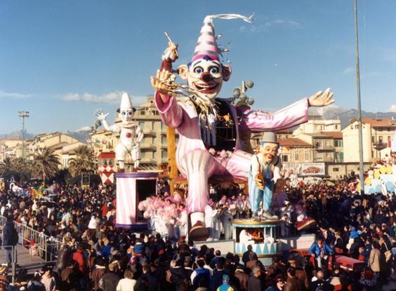 L'anima del carro di Roberto Alessandrini e Mario Vannucchi - Carri piccoli - Carnevale di Viareggio 1988