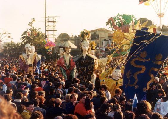 L'ultimo imperatore di Laura Canova - Mascherate di Gruppo - Carnevale di Viareggio 1988