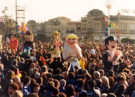 Signore e signori di Riccardo Luchini - Mascherate di Gruppo - Carnevale di Viareggio 1988