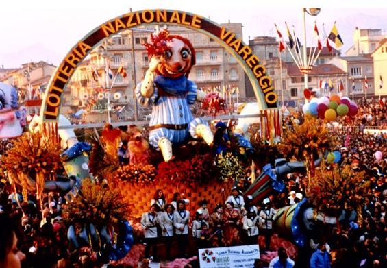 Carnevale dei fiori di Rione Migliarina - Fuori Concorso - Carnevale di Viareggio 1989
