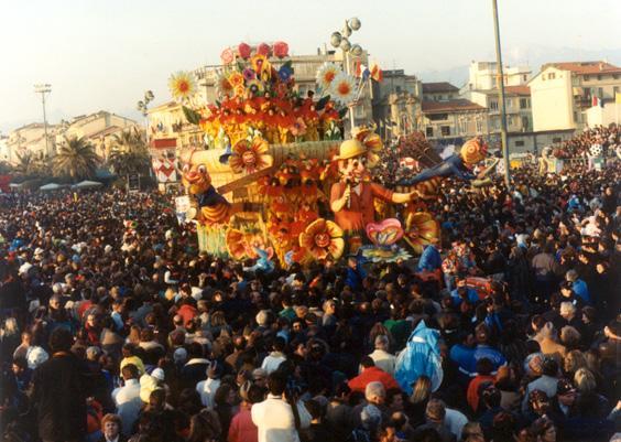 Carnevale in fiore di Rione Vecchia Viareggio - Fuori Concorso - Carnevale di Viareggio 1989