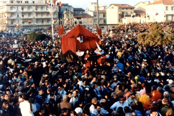 Che mania la magia di Rione Vecchia Viareggio - Palio dei Rioni - Carnevale di Viareggio 1989