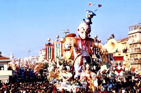 I fanfaroni di Giulio Palmerini (cons. Nilo Lenci) - Carri grandi - Carnevale di Viareggio 1989