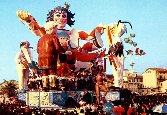 Viareggio Re dei Carnevali di Carlo e Enrico Vannucci - Carri grandi - Carnevale di Viareggio 1989