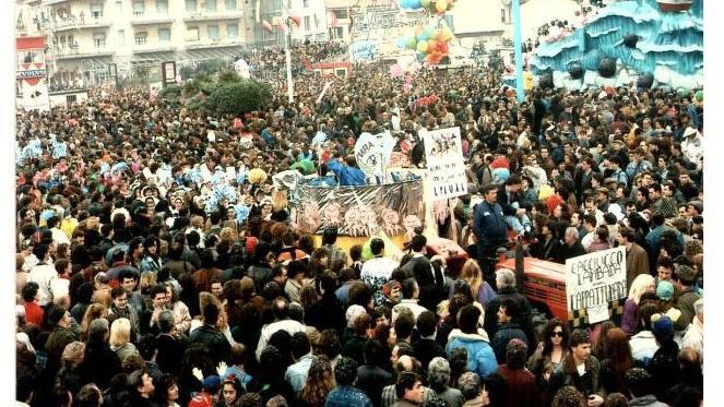 Cacciucco lambada ovvero l'appattumata di Rione Darsena - Palio dei Rioni - Carnevale di Viareggio 1990