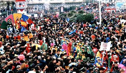Esportiamo il carnevale di Rione Torre del Lago - Palio dei Rioni - Carnevale di Viareggio 1990