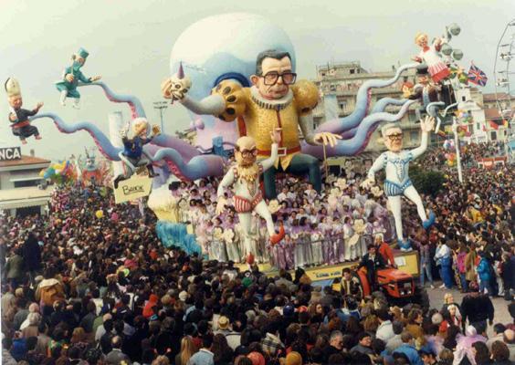Essere o non essere di Roberto Alessandrini - Carri grandi - Carnevale di Viareggio 1990