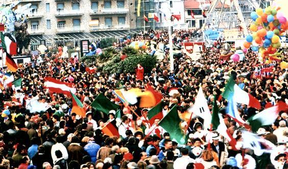 Mondial novanta di Rione Varignano - Palio dei Rioni - Carnevale di Viareggio 1990