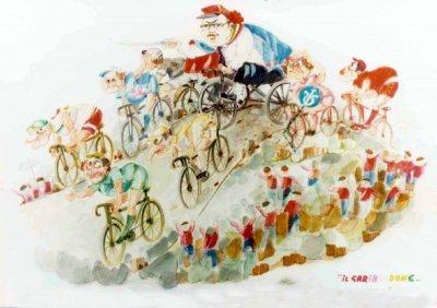 bozzetto Il garibaldone di Giovanni Strambi e Guidobaldo Francesconi - Carri piccoli - Carnevale di Viareggio 1983